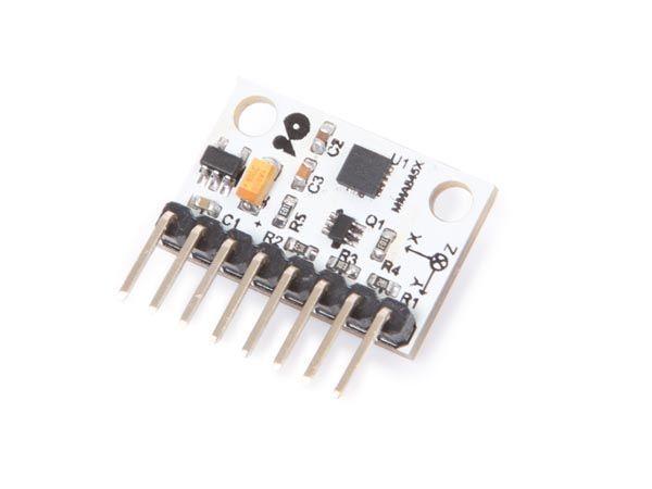 accéléromètre numèrique à 3 axes - mma8452 - compatible arduino