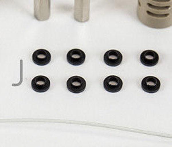 10x rondelles  plastiques pour tête k8400 et to220