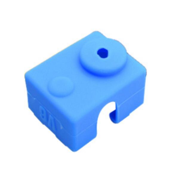 capuchon en silicone bleu pour tête d'impression e3d v6