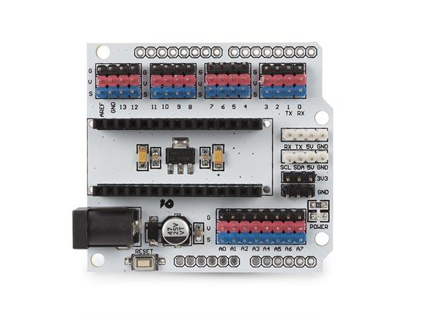 carte d'extension multifonctions pour arduino® nano/uno