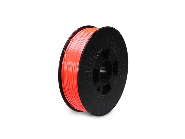 filament pla 1.75 mm - orange fluorescent - 750 g