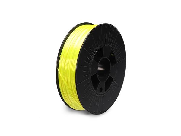 filament pla 1.75 mm - jaune fluorescent- 750 g