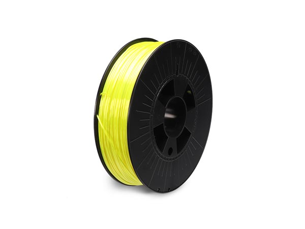 filament pla 1.75 mm - jaune fluorescent- 750 g