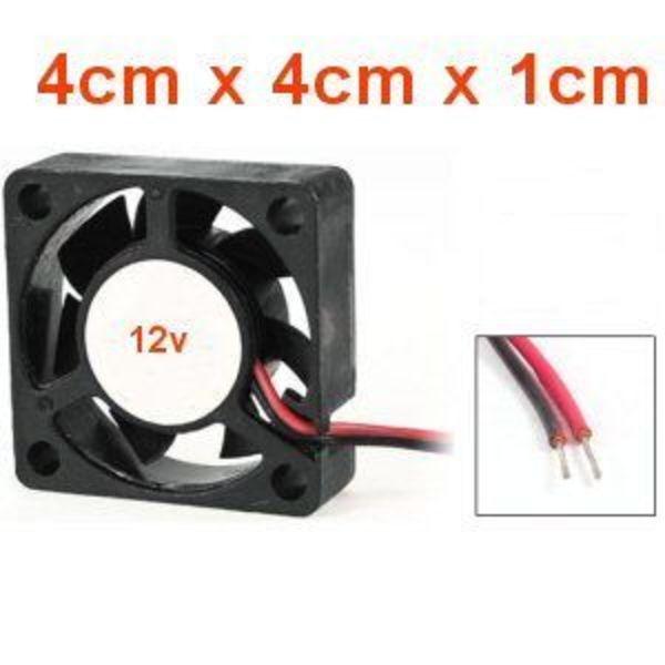 ventilateur pour tête 4cm x 4cm x 1cm  12v 4010-12