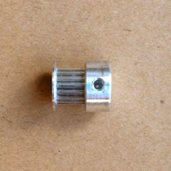 poulie 16 dents 5mm t2.5 +vis