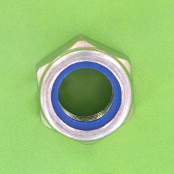 10x ecrou nylstop m4 inox a2