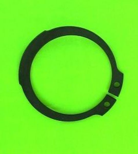 10x circlips exterieur 15mm acier noir pour lm8xxx