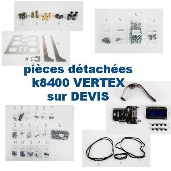 pieces détachées, visseries, electronique de k8400 sur devis