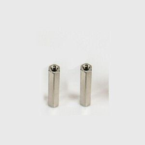 2 x entretoises métalique femelle-femelle 25mm m3