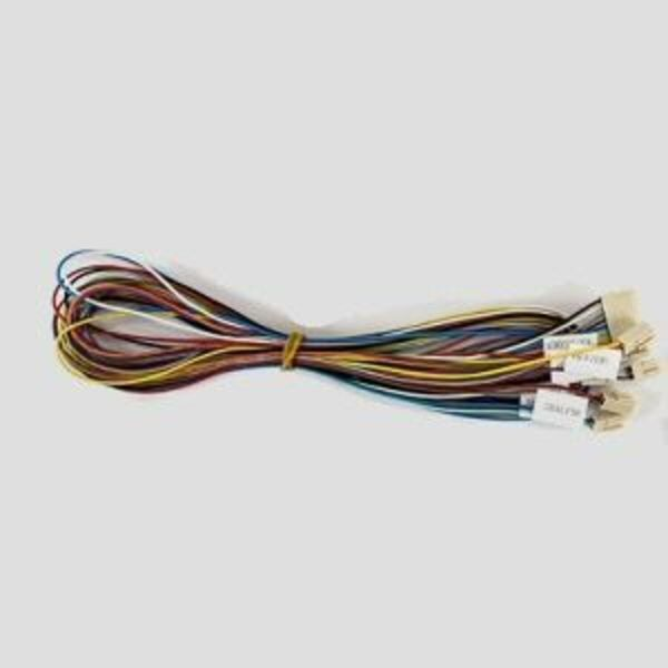 câblage complet pour tête d'extrusion  k8400