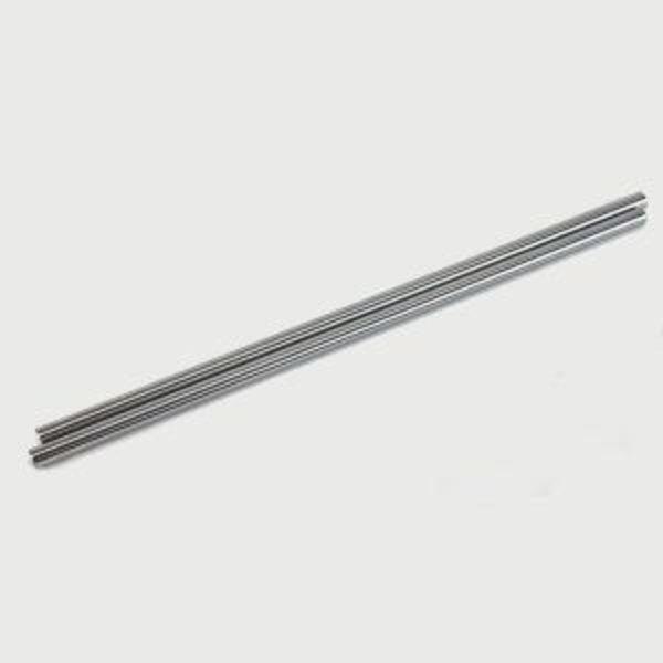 1x tige inox lisse diametre 8mm longueur 289mm k8400