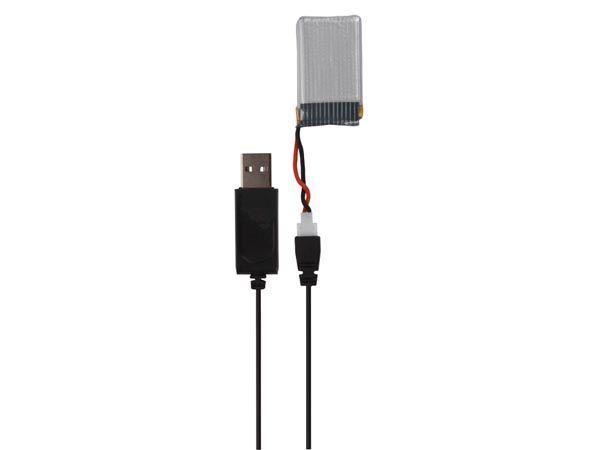 cable usb de charge pour drone quadricoptère rcqc1