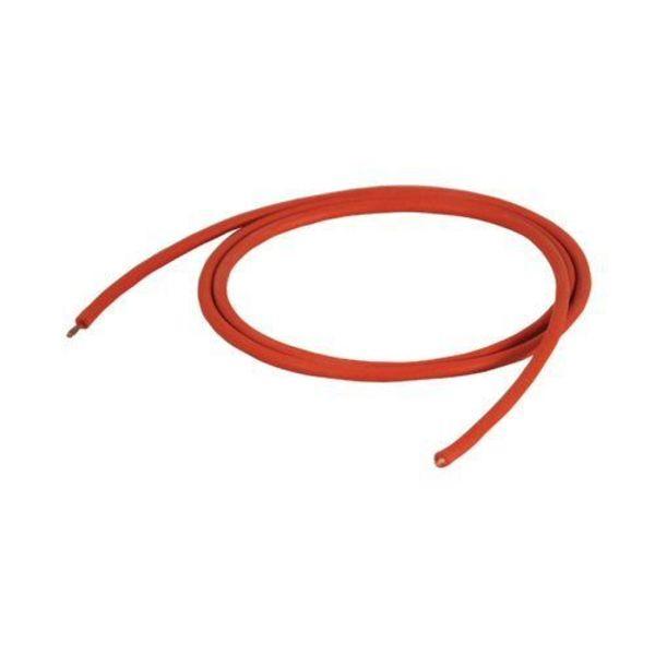 câble rouge silicone haute température 200°c / m