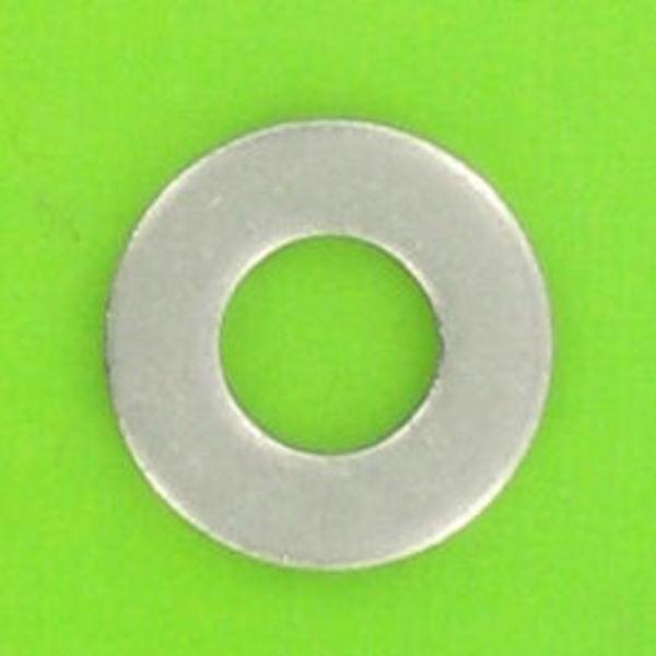 10 x rondelles plate inox a2 m4