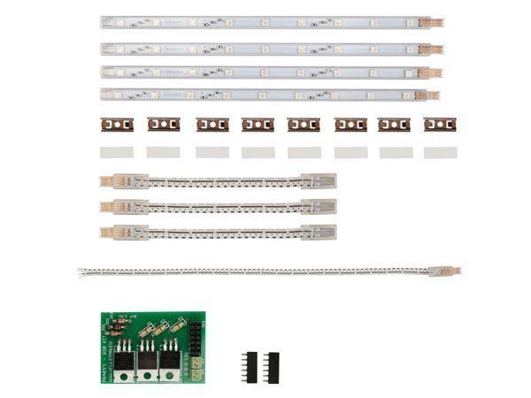 barrette rigide à led rvb pour k8400 - imprimante 3d vertex