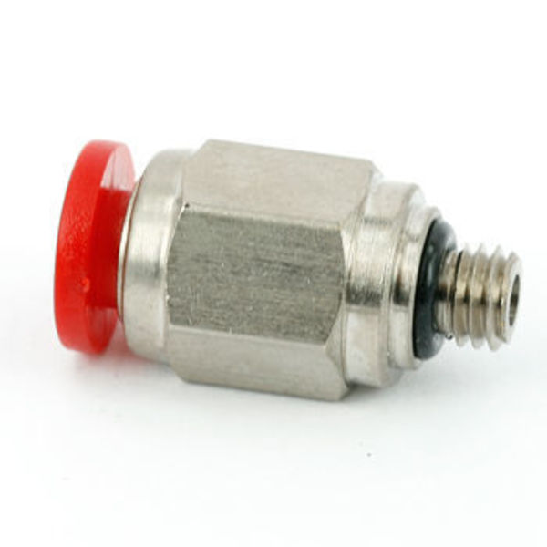 connecteur pneumatique pour filament 1.75 / dia 4 / m5 x 0,8