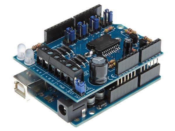motor &  power shield pour arduino®