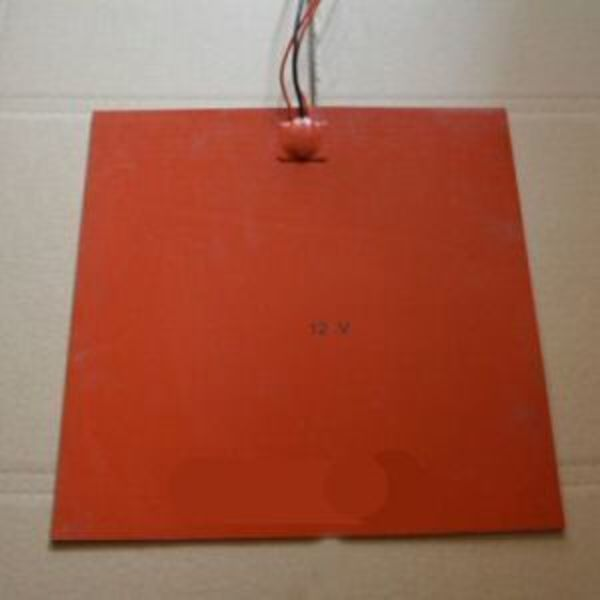 lit chauffant en silicon 30cm x 30 cm 12v 300w