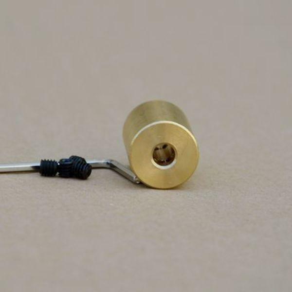coupleur 5mm vers m5(5mm) + vis rigide