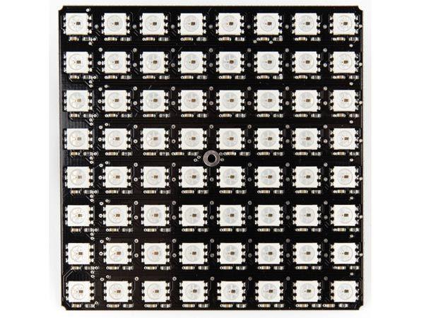 matrice à 64 leds rvb