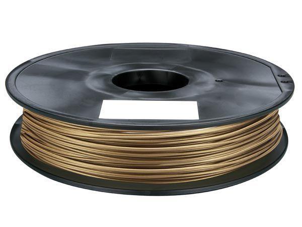 1.75 mm (1/16) fil pla - bronze - 0.5 kg velleman