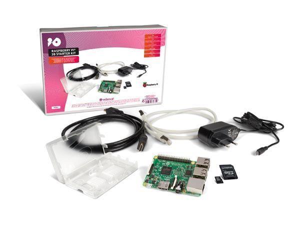 kit complet raspberry pi 3 original  modèle b + 8go