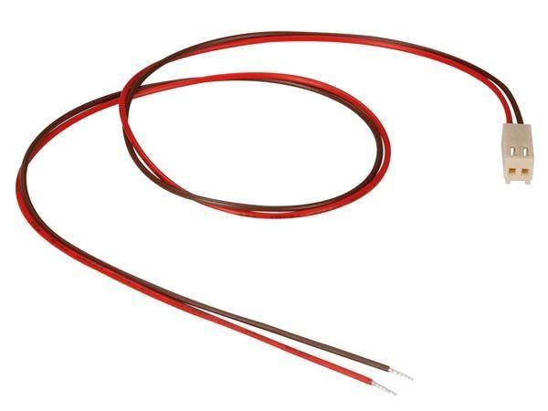 connecteur avec cables pour ci - femelle - 2 contacts / 40cm