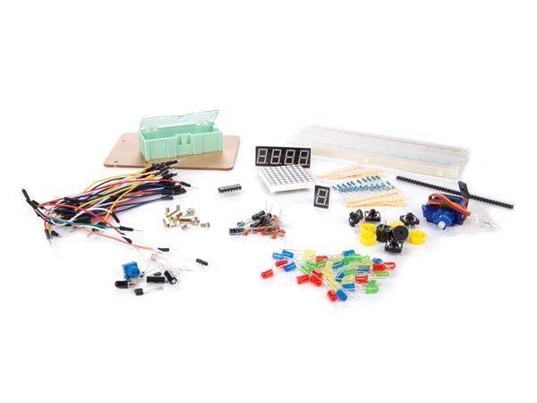 jeu de pièces électroniques pour arduino®