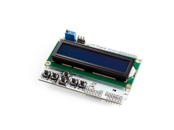 module lcd et clavier pour arduino® - lcd1602