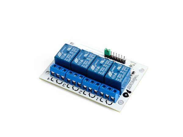 module relais à 4 canaux