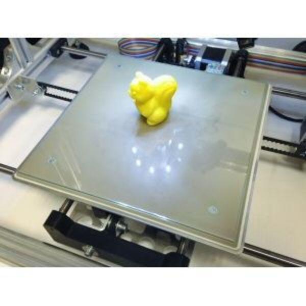 panneau en verre pour imprimante 3d (215 x 215 x 3 mm)