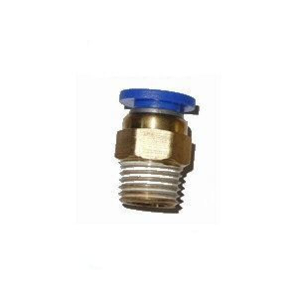 connecteur pneumatique pour filament 1.75 / dia 4 / m10 x 0,8 pc4