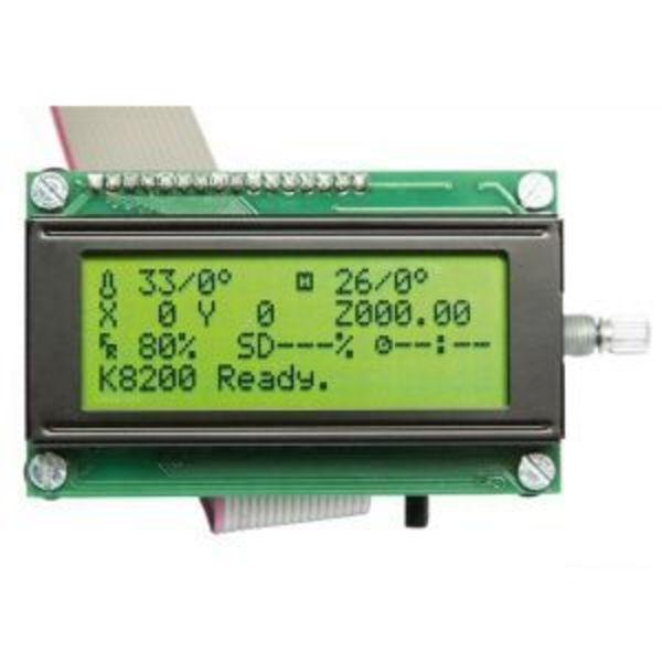 contrôleur autonome lcd + lecteur sd pour k8200