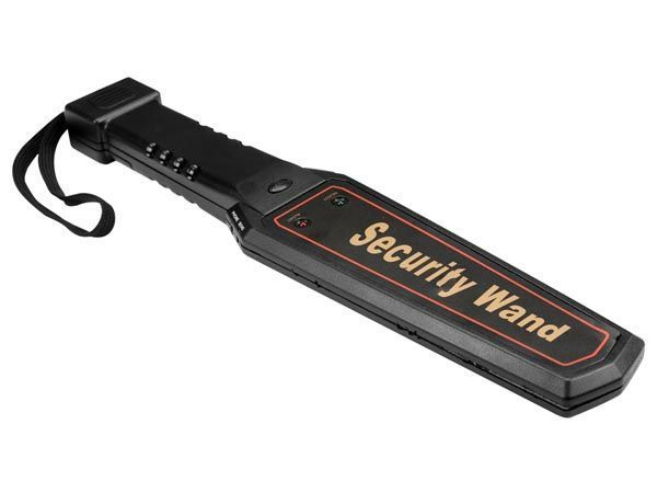 détecteur de métaux portatif - sécurité