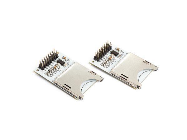 module d'extension de memoire sur carte sd pour arduino® (2 pcs)