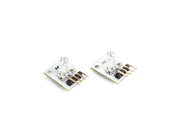 module rgb led compatible arduino® (2 pcs)