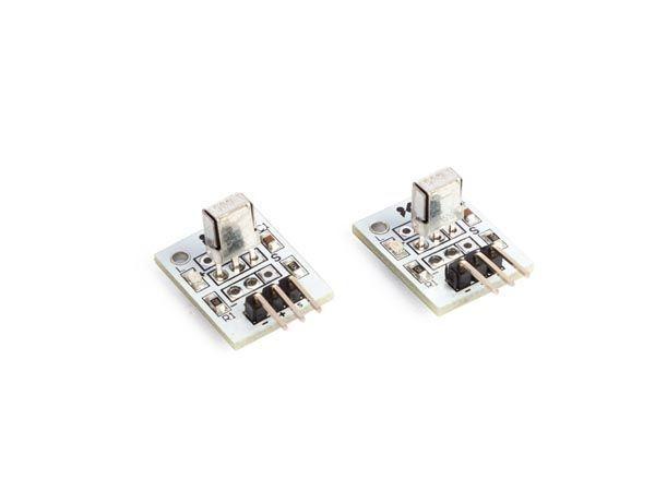 récepteur 1838 infrarouge 37.9 khz compatible arduino® (2 pcs)