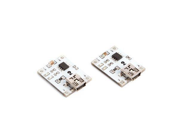 module de chargement de batterie lithium 1 a (2 pcs)