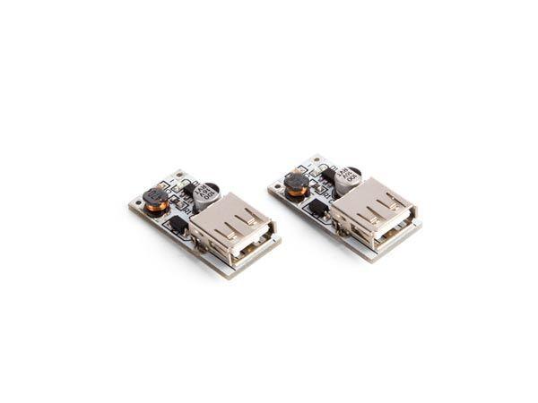 module boost dc-dc / (2.5 v-5 v) 600 ma vers usb 5 v (2 pcs)