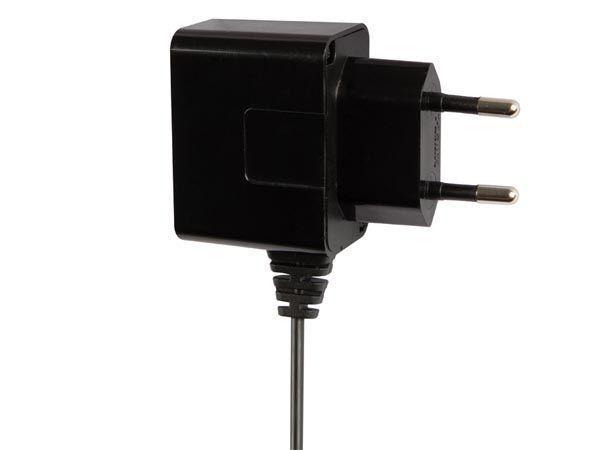 chargeur compact avec connexion micro usb 5 v - 1 a max. - noir