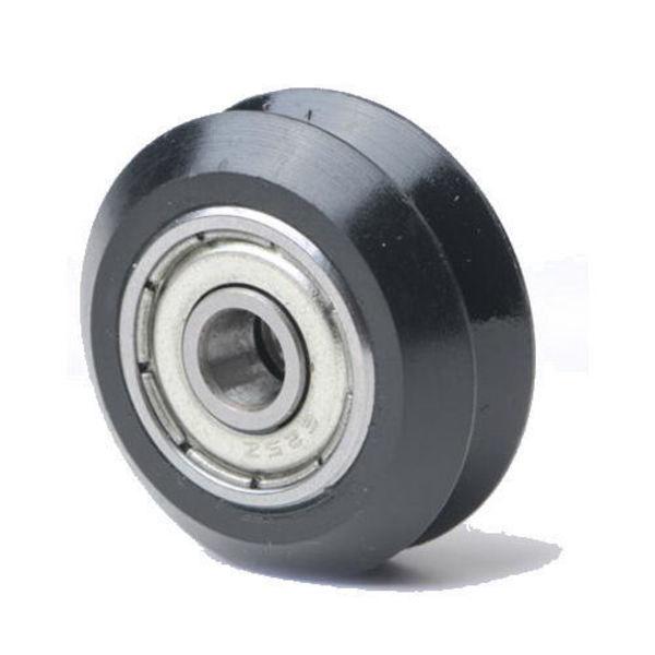 roue delrin v platique avec roulement 625zz