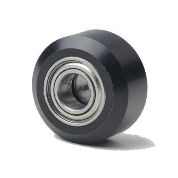 roue delrin plate en plastique avec roulement 625zz