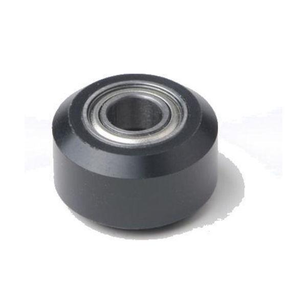 roue petite delrin plate en plastique avec roulement mr105zz