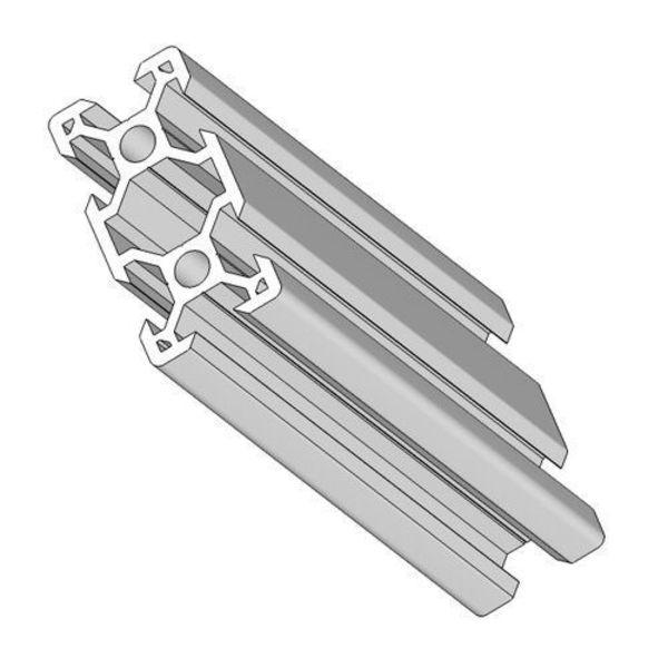 rail profilé v-solt 4020 aluminium 40mm x 20mm x1m