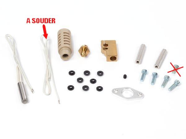 kit changement de tête pour imprimante vertex k8400  (attention lire la description)