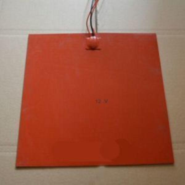 lit chauffant en silicon 30cm x 30 cm 24v 300w