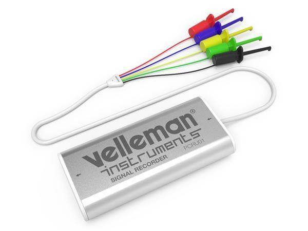 mini enregistreur de signaux à 4 canaux