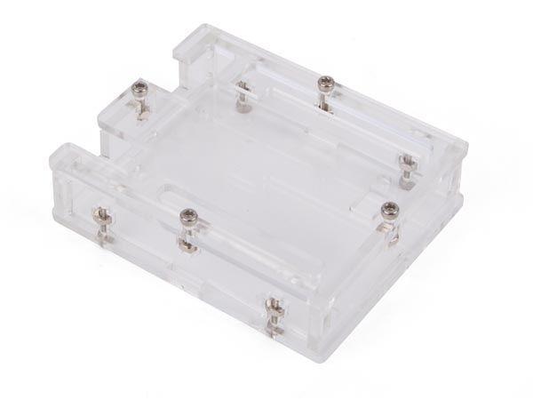 boîtier transparent pour arduino® uno r3