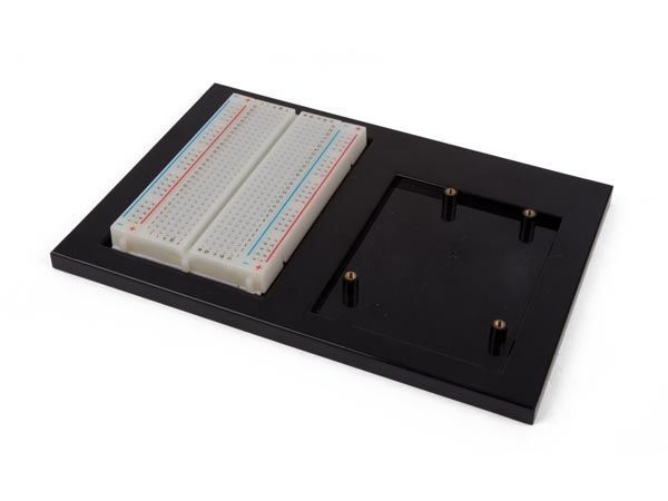 support de projet pour carte de développement arduino® uno + platine d'expérimentation