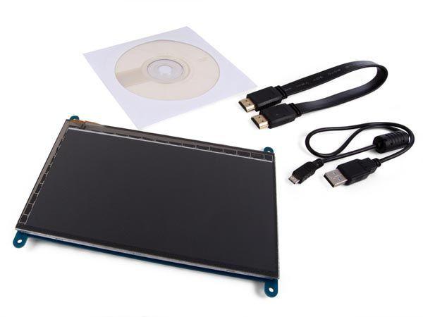 ecran tactile capacitif de 7 pour raspberry pi® 800 x 480